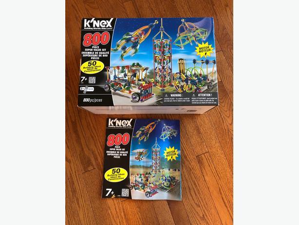 K'nex motorized set