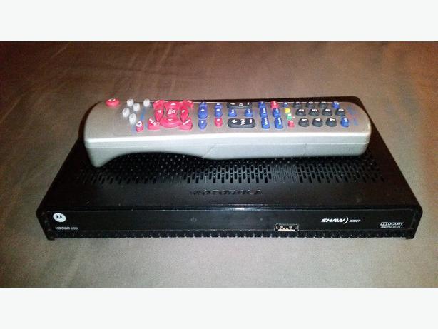 Shaw Direct HD DSR600 HDMI Satellite Receiver