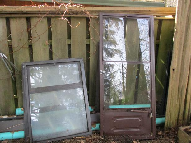 FREE Storm door and 2 windows