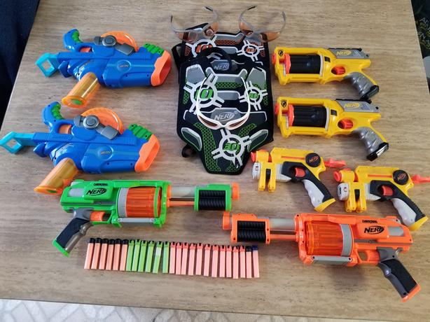 Nerf gun collection - $140.00 OBO