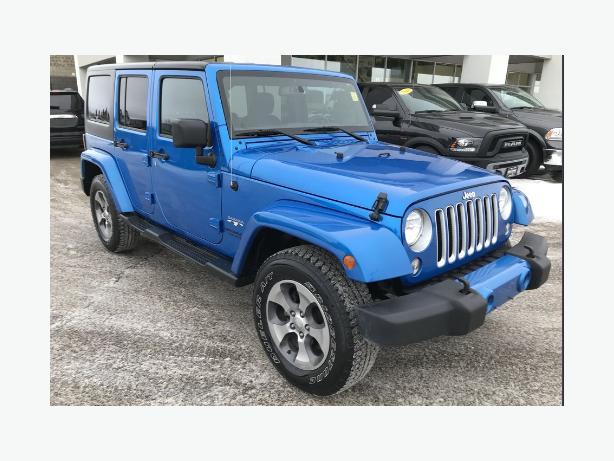 2016 Jeep Wrangler Sahara Convertible $37996