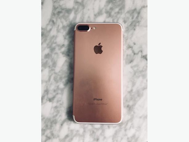 Iphone 7 Plus Rose Gold 32gb Applecare Warranty Until Mid