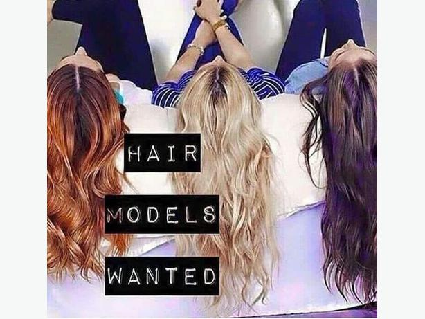 WANTED: looking for hair models