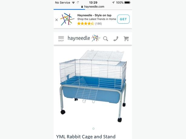 Rabbit/small Rodent Cage