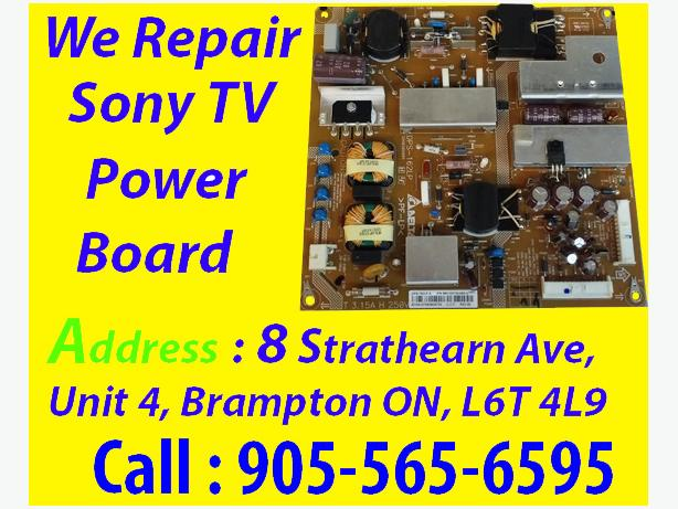 """KDL-50EX645 SONY, DPS-162LP, 1-895-316-11, """"REPAIR SERVICE ONLY"""" 6 Blink"""