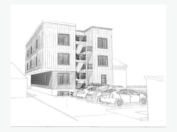 Developers! Land w. 10 unit building approved nr St Laurent Mall! Unique opp!