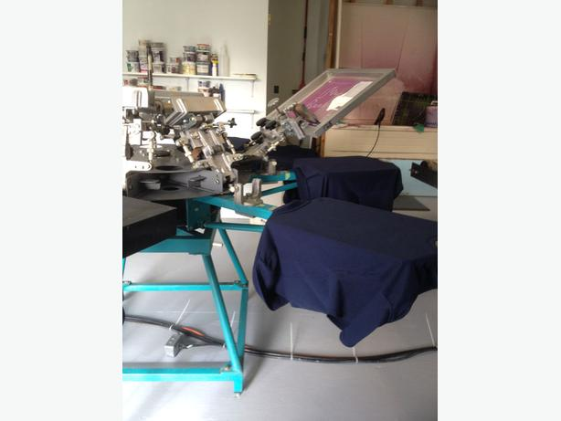Screen Printing Dryer,Lancer Flash and Workhorse Press