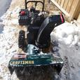 "CRAFTSMAN 9 HP 24"" SNOW BLOWER"