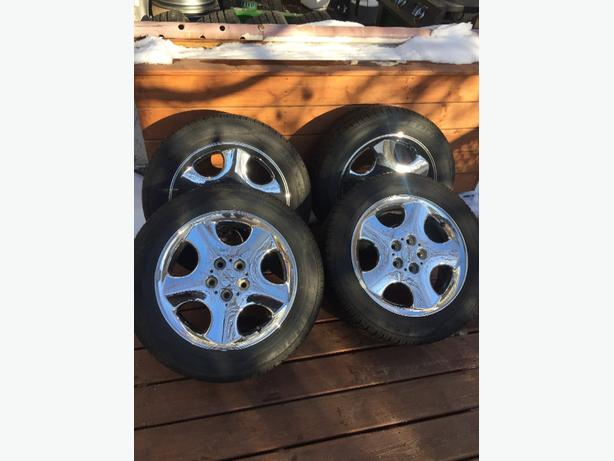 225/55R17 Coopers on intrepid RT alloys