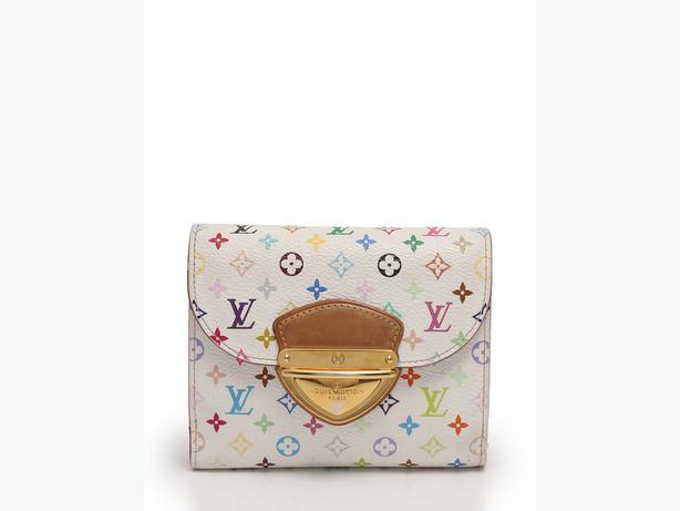 LOUIS VUITTON Portefeuille Joy tri-fold wallet Monogram Multi-Color PVC leather