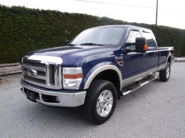 2008 Ford F-350 SD Lariat Crew Cab 4WD Diesel Long Box