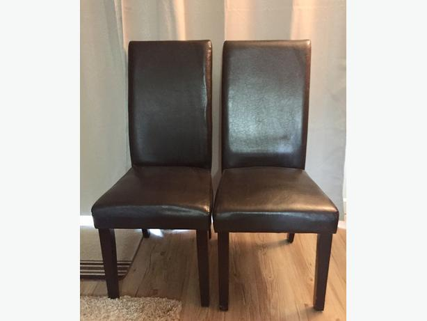 Two Dining Room Chairs