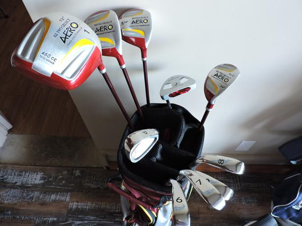 Ladies Pro Select Golf Clubs