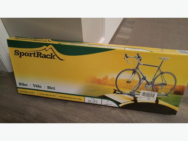 Bike carrier for roof rack