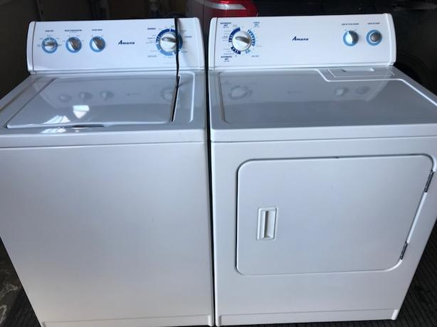 Matching Set-Amana Washer and Dryer