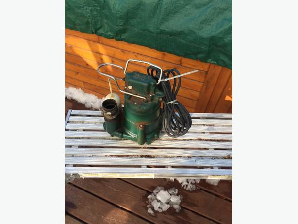 Zoeller 1/2hp cast iron pump