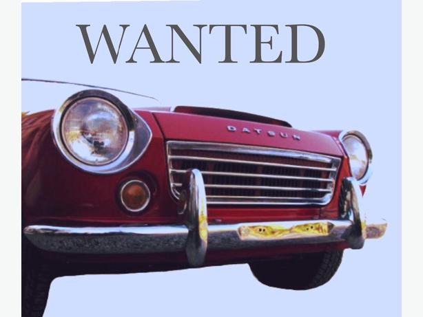 WANTED:    DATSUN ROADSTER