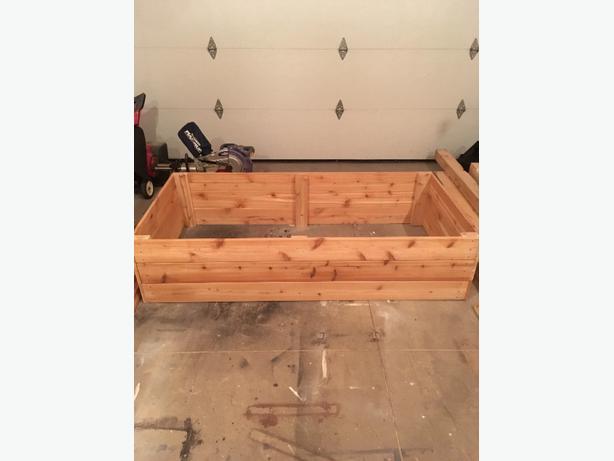 Cedar raised garden beds!!