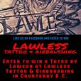FREE TATTOO you could Win!! $750 worth of Custom Tattoo