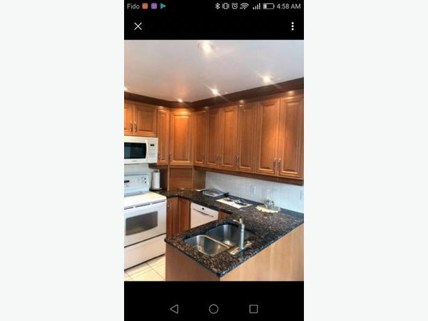 beautiful cherry wood with granite kitchen