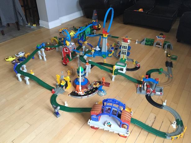 Amazing Kids Train Set - Geo Trax - HUGE LOT