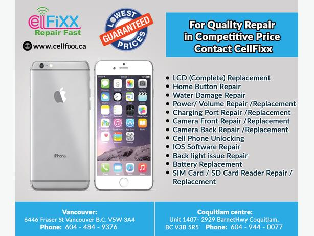 Cell Phone Repair in definitely competitive price in Town