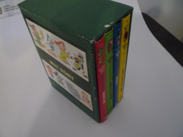 1965 Disney 4 HC Box set with box cover, great condition