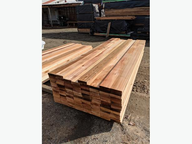 Cedar 2x6 S4SEE Presitge