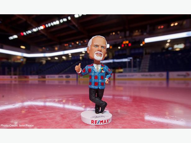 Don Cherry WHL Bobblehead