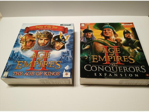 Age Of Empires 2 The Age of Kings & The Conquerors Expansion