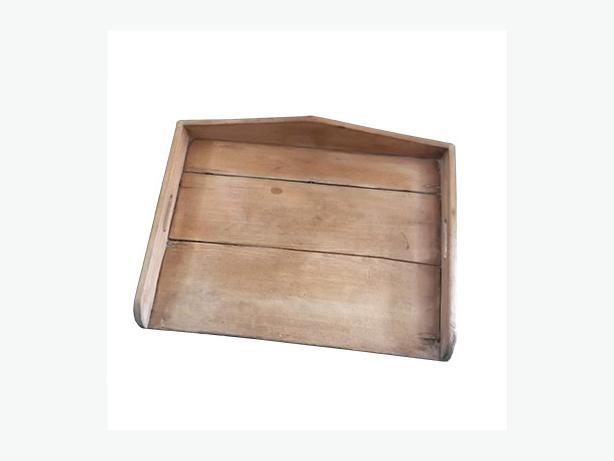 Antique large wooden dough board