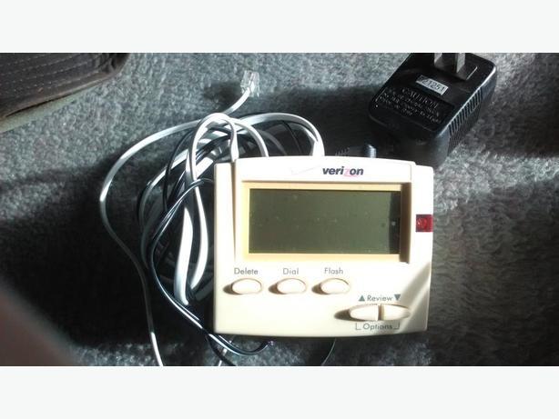 GE answering machine and Call display