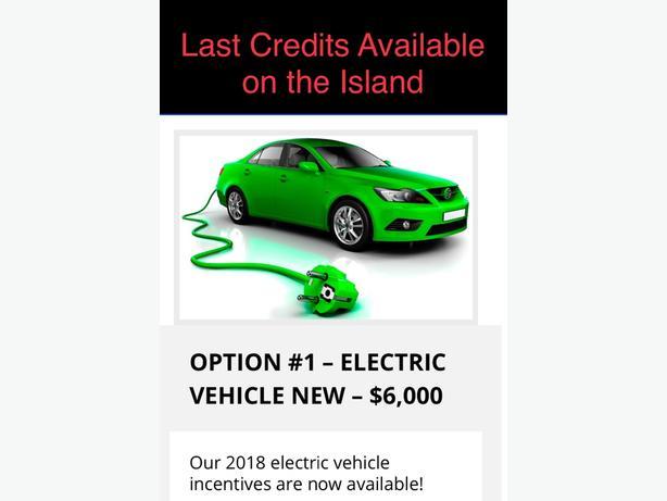 $6,000.  2018 EV Scrap-It Credits