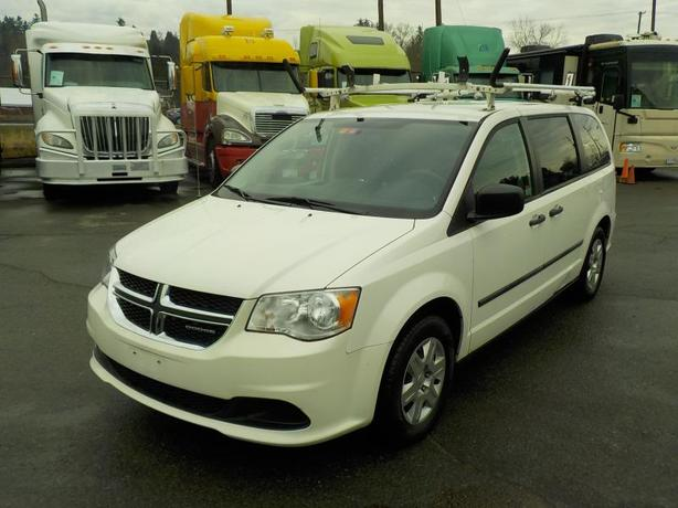 2011 Dodge Grand Caravan Cargo Van with Shelving and Ladder Rack