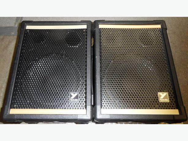 Pair Of Yorkville YS-110 80 Watt Passive PA Speakers