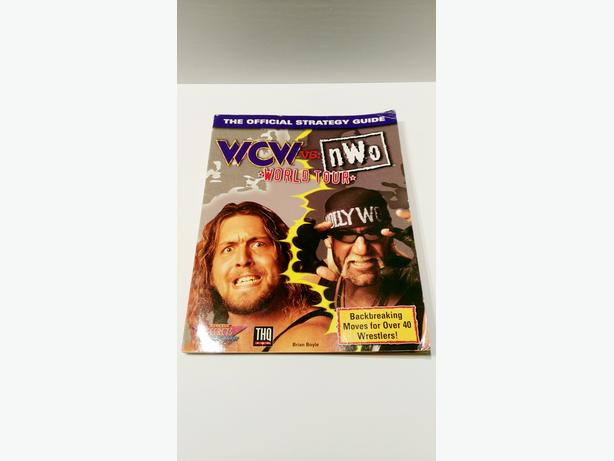 WCW vs. NWO World Tour Nintendo 64 Official Strategy Players Guide