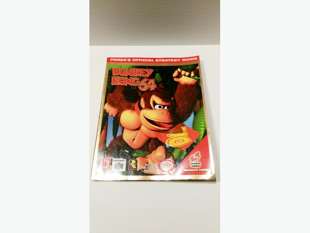 Nintendo 64 Donkey Kong Prima Strategy Guide Book