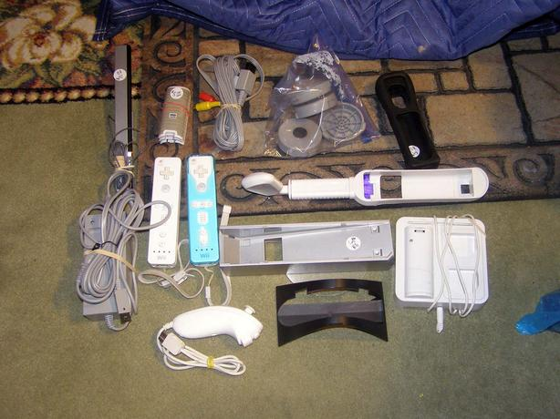 Wii Game Console Accessories: