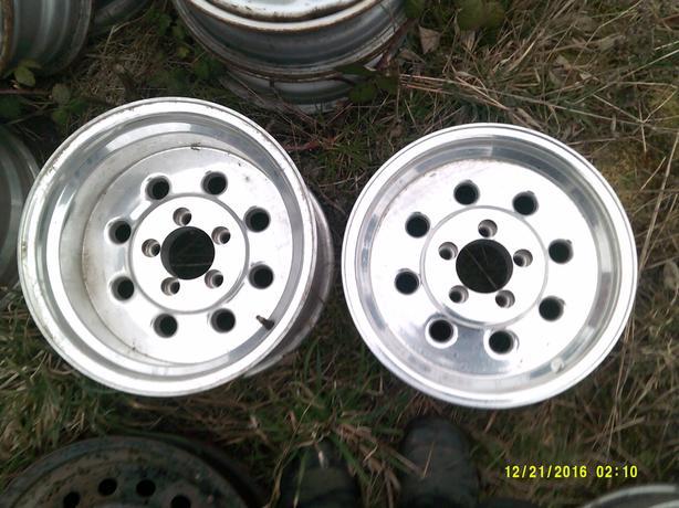Wheels Set of Four, Polished Aluminum $75.00/Each