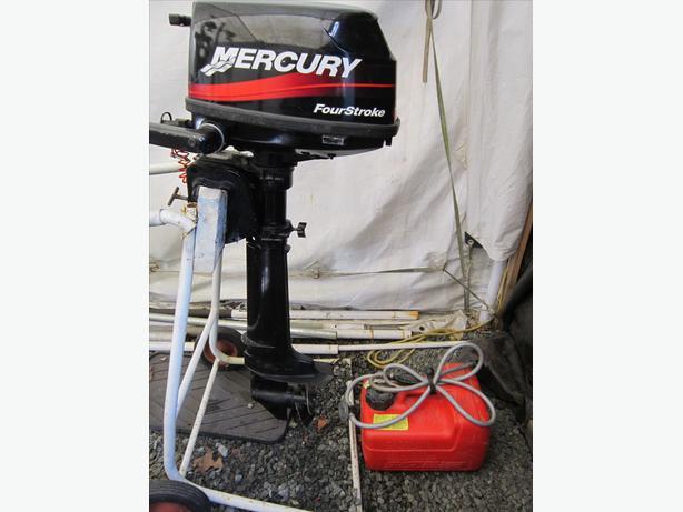 Mercury 5 HP motor