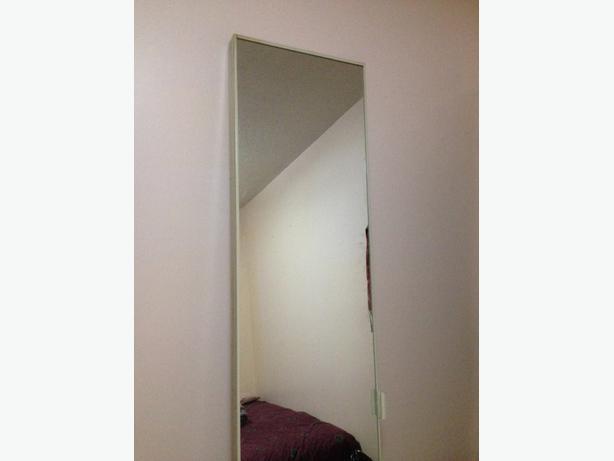 folding mirror door