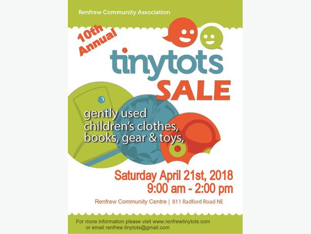 10th Annual Renfrew Tiny Tots Sale