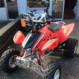 2008 Honda TRX450R Race ATV. Excellent condition