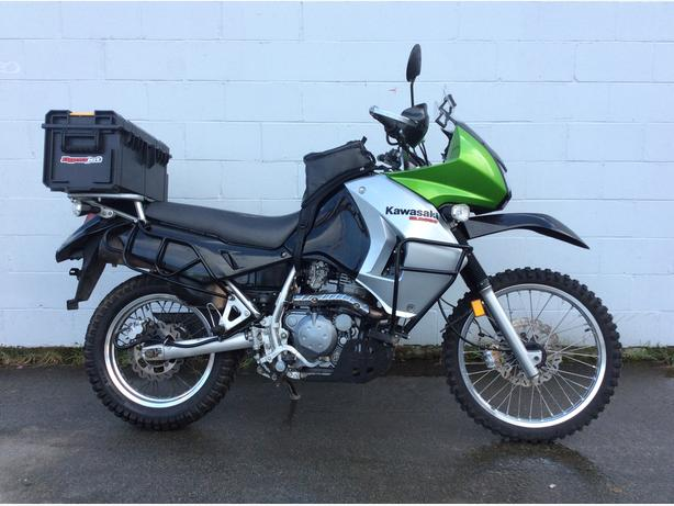 2008 Kawasaki KLR 650 Fully loaded clean bike