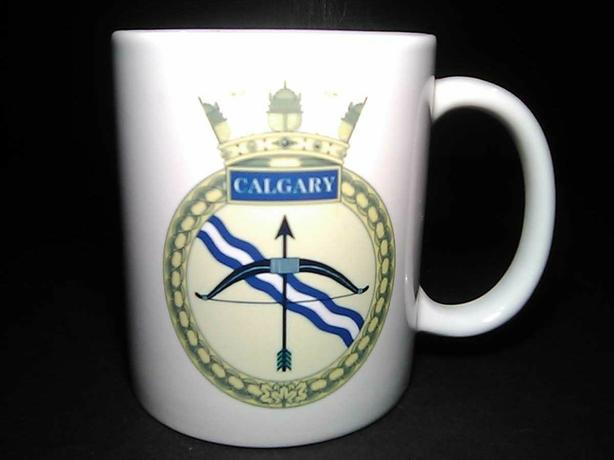 HMCS Calgary cup