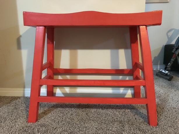 Bar height bench