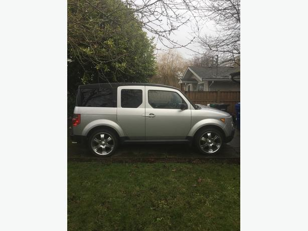 2006 honda element real time awd