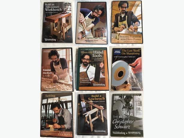 Woodworking DVDs for Sale