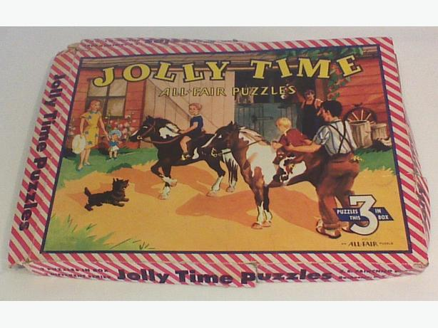 Jolly Time All-Fair Puzzles in box