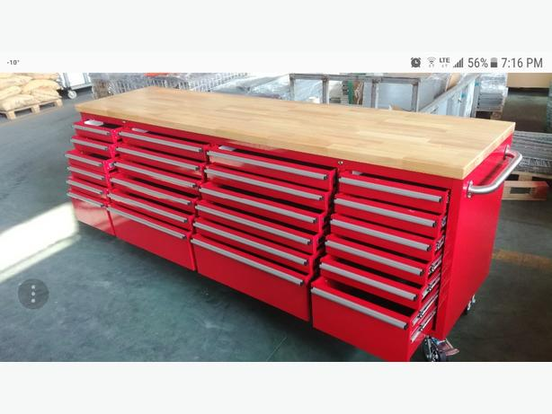 24 Draw Fatboy Tool Box in Red